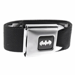 Batman Silver Logo Belt
