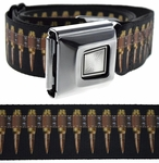 Copper Bullets Buckle Down Belt