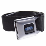 Ford Blue Oval Logo Seatbelt Belt