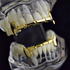 Gold Full Fangs Half Set