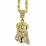 "Jesus Piece 24"" Rope Chain"