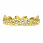 14k Gold Plated Infinity Grillz