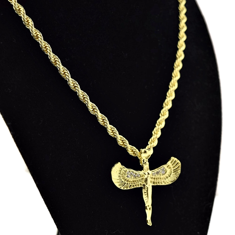 isis gold rope chain 24quot chains