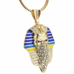 "Thug Pharaoh 36"" Gold Chain"