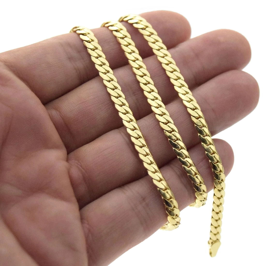 Miami Cuban Gold Chain 20 Quot 5mm Chains