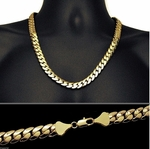 "Miami Cuban Gold Chain 24"" 12MM"