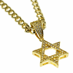 "Micro Star Of David 30"" Chain"