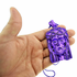 "Purple Jesus Piece 36"" Ball Chain"