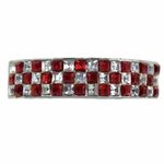 Red Checkered VIP Top Grillz