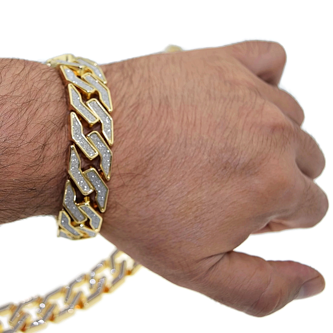 20MM Gold Chain Bracelet - Chains