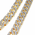 20MM Gold Chain & Bracelet