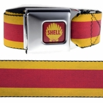 Shell Oil Logo Seatbelt Belt