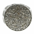 Round Micro Pave Silver Tone Ring