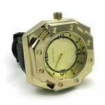 Octagon Gold Plated Watch
