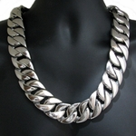 30 mm Silver S. Steel Chain