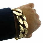 25MM Gold Plated Cuban Bracelet