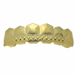 Tombstone Gold Plated Top Grillz