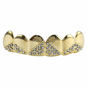 Gold Upper Triangle Grillz