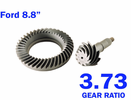 Ford Racing 3.73 Ring & Pinion Gear Set for Mustang 1986-2014