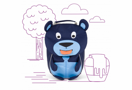 Affenzahn Small Friends Backpacks - Ages 1-3 - Click to enlarge