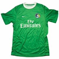 New York Cosmos Nike Adult Authentic Away Jersey Kit - Green<br><b><i>Available with custom player name and number!</i></b>