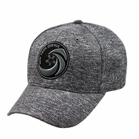 New York Cosmos Top of the World Fitted Tonal Flex Cap-Grey
