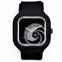 New York Cosmos Logo Watch - Black