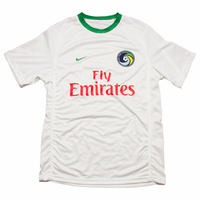 New York Cosmos Nike Adult Authentic Home Jersey Kit - White<br><b><i>Available with custom player name and number!</i></b>