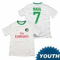 New York Cosmos Nike Youth Raul #7 Authentic Home Jersey Kit - White<br>-Please Allow 2-3 Weeks to Ship