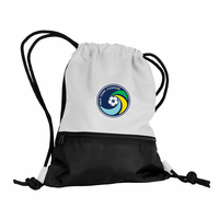 New York Cosmos Pocket Cinch Bag - White
