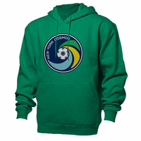 New York Cosmos Primary Logo Hoodie-Green