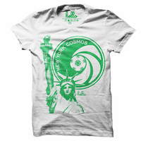 New York Cosmos Short Sleeve Liberty Tee - White