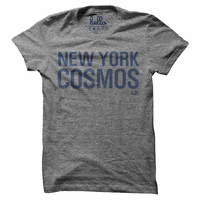 New York Cosmos Short Sleeve Verbiage Tee - Grey