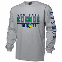 New York Cosmos Sleeve Hit Long Sleeve Tee - Oxford