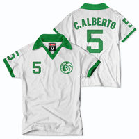 New York Cosmos Tailgate Alberto Short Sleeve Throwback Jersey - White