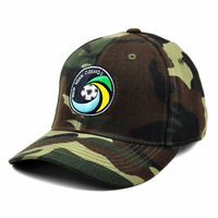 New York Cosmos Top of the World Camo Flex Cap