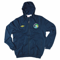 New York Cosmos Umbro Full Zip Hoody - Navy