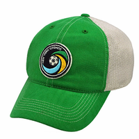 New York Cosmos Top of the World Vintage Mesh Flexfit Hat-Green