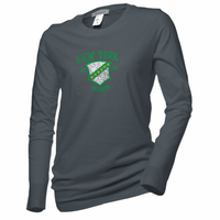 New York Cosmos Women's Long Sleeve Shield Tee - Charcoal