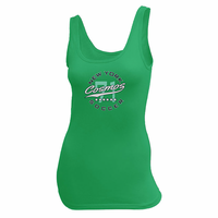 New York Cosmos Women's Soccer Tank - Green