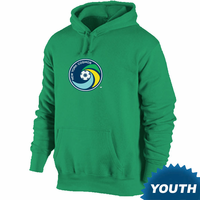 New York Cosmos Youth Primary Logo Hoodie - Green