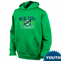 New York Cosmos Youth Shield Hoodie - Green
