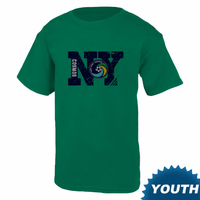 New York Cosmos Youth Short Sleeve Logo Tee - Green