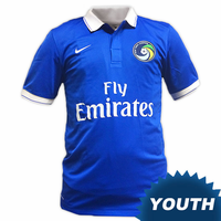 New York Cosmos Nike Youth Third Jersey - Royal<br><b><i>Available with custom player name and number!</i></b>