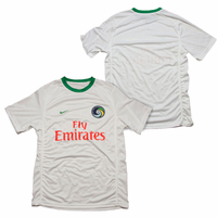 New York Cosmos Nike Adult Replica Home Jersey Kit - White <br><b><i>Available with custom player name and number!</i></b>