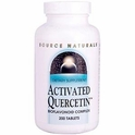 Activated Quercetin, 200 Tablets, Source Naturals