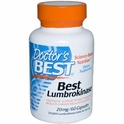Best Lumbrokinase, 20 mg, 60 Capsules, Doctor's Best