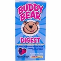 Buddy Bear, Digest, Berry Blast Flavor, 60 Chewable Bear Tablets, Renew Life