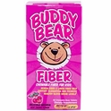 Buddy Bear Fiber, Very Cherry Flavor, 60 Chewable Bear Tablets, Renew Life