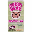 Buddy Bear Gentle Lax, Chocolate Cream Flavor,  60 Chewable Bear Tablets, Renew Life